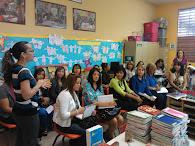 Visita escuela modelo UPR, Río Piedras