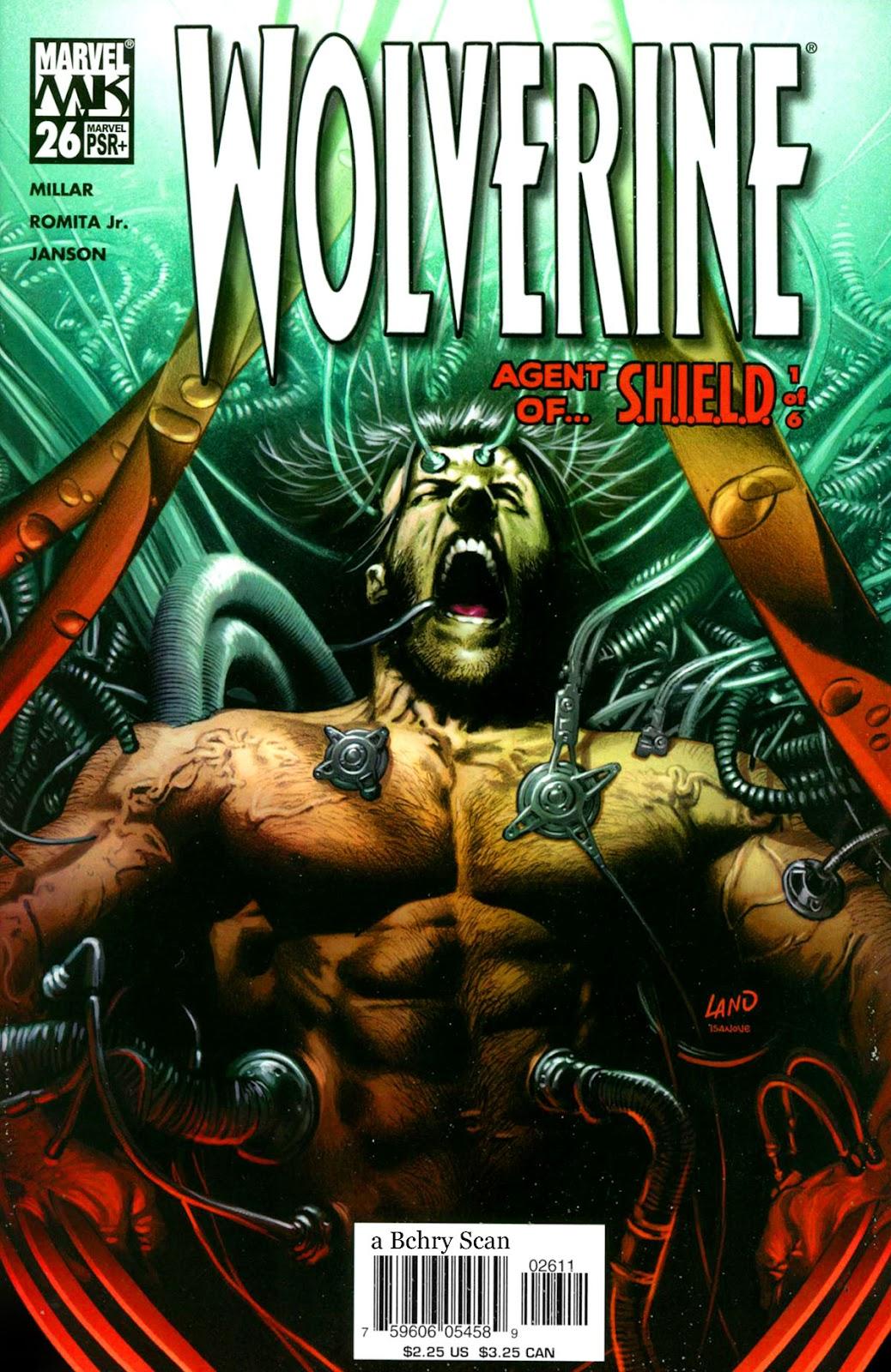 Read online Wolverine (2003) comic -  Issue #26 - 1