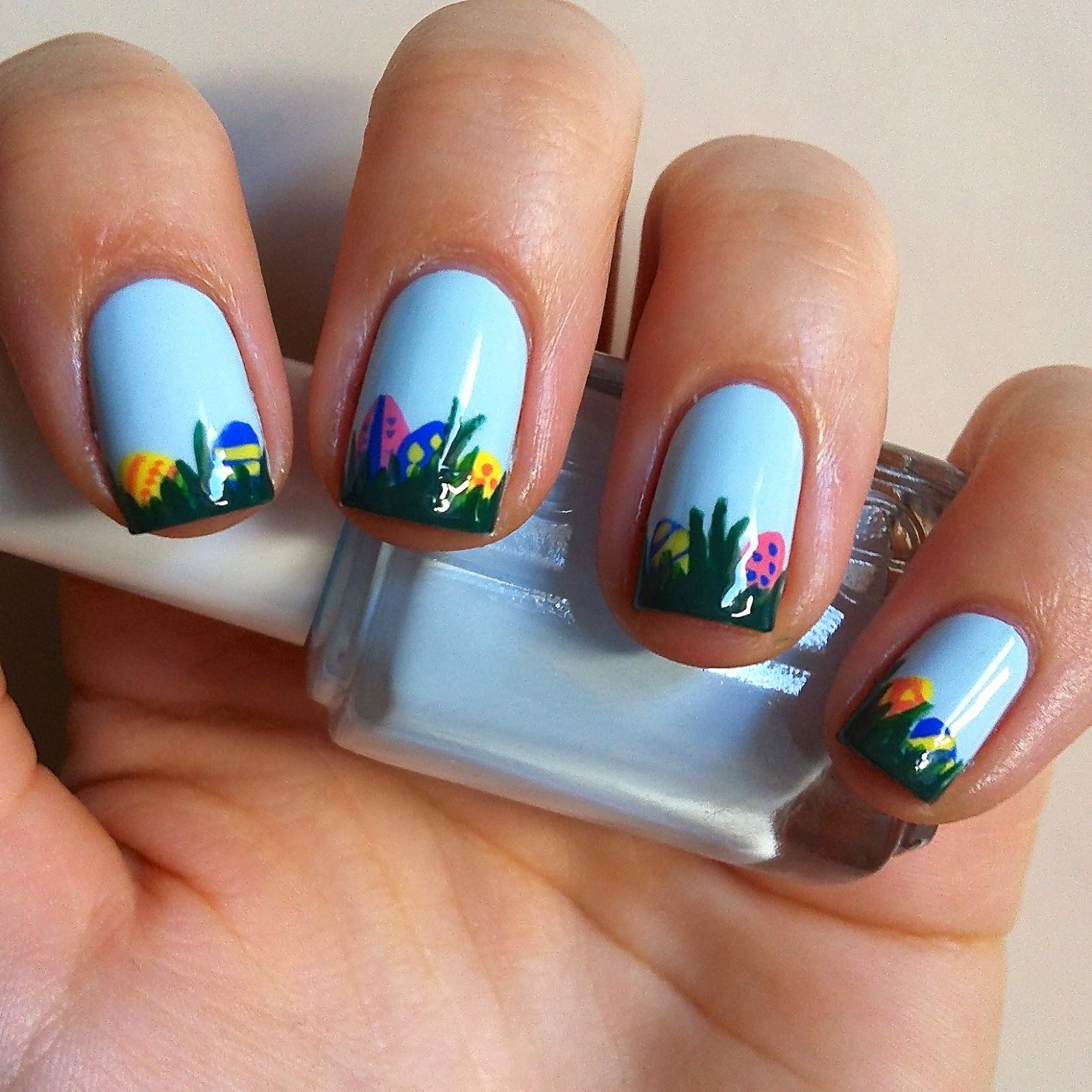 Nails Always Polished: Easter Manicure #4