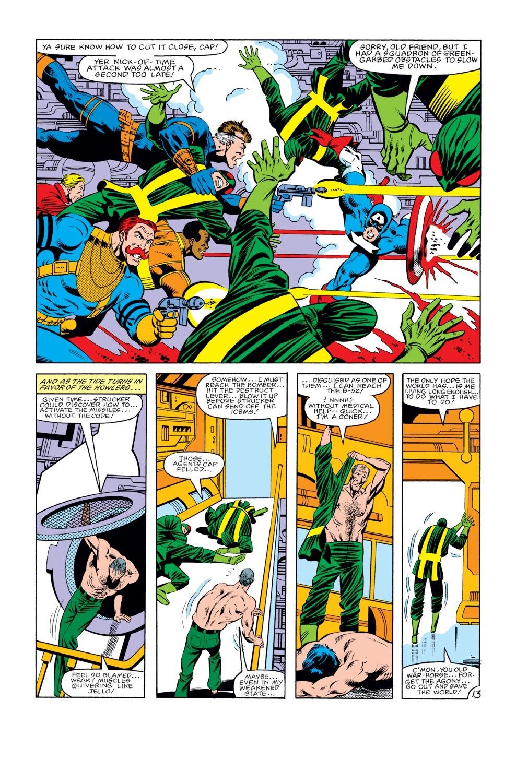 Captain America (1968) Issue #274 #190 - English 14