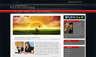 Reddish Blogger Template