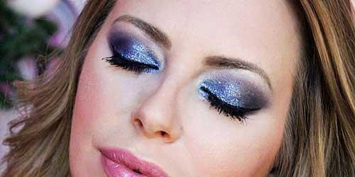 sombras ojos glitters