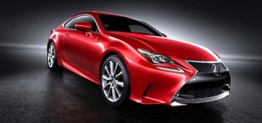 Nih, Warna Baru Lexus RC Coupe