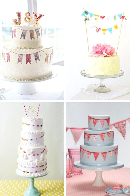 Cake Decoration Bunting :  i do  it yourself: cake bunting