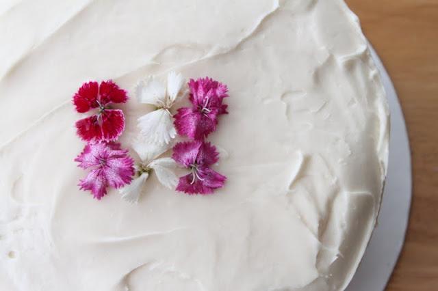 Baking Me: Raspberry Cream Cheese Layer Cake