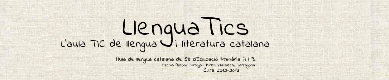 LlenguaTics - L'aula TIC de Llengua i Literatura Catalana