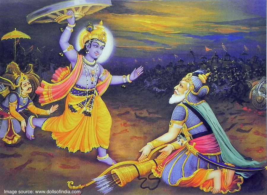 Best God Krishna Chakra HD wallpapers for free download