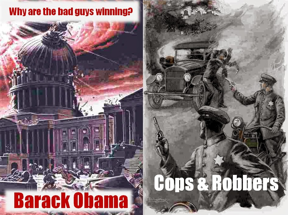 Obama Destroys The Capital of Freedom