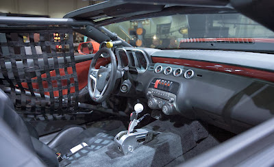 Interior of Copo Camaro