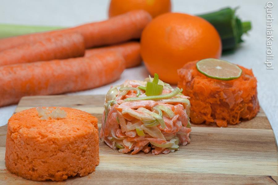 Surówki z marchewki