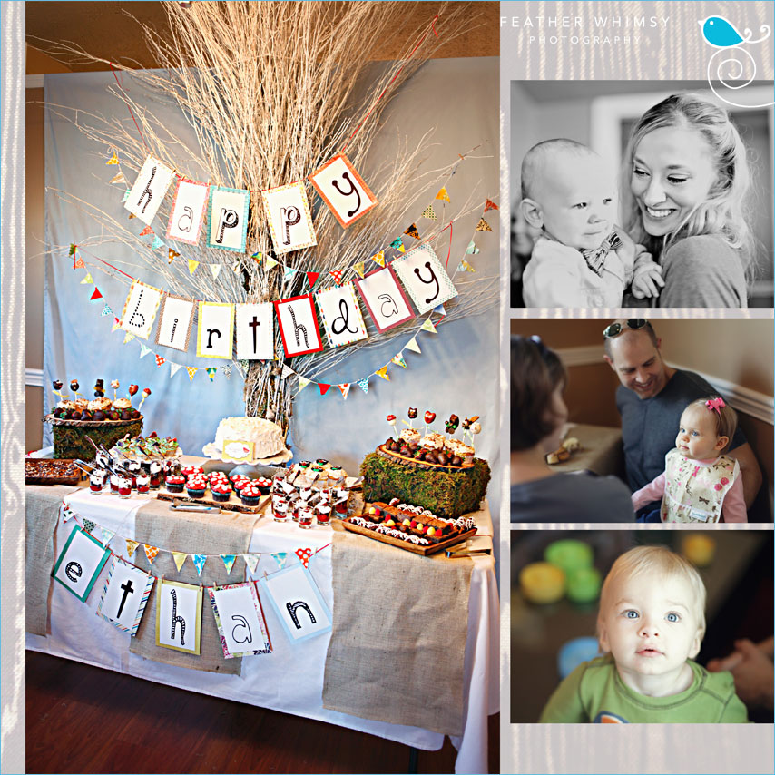 Kara 39 S Party Ideas Retro Woodland 1st Birthday Party Kara 39 S Party I