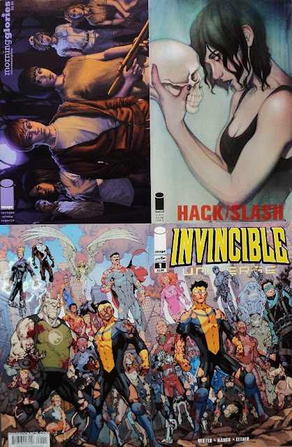 April Comic Books / Cómics de abril