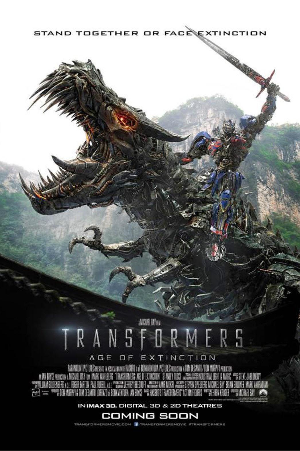 xem phim Transformers 4: Kỷ nguyên huỷ diệt - Age of Extinction 2014 full hd vietsub online poster