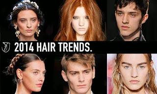 FOTO Trend Gaya Rambut 2014 Model Terbaru Potongan Praktis