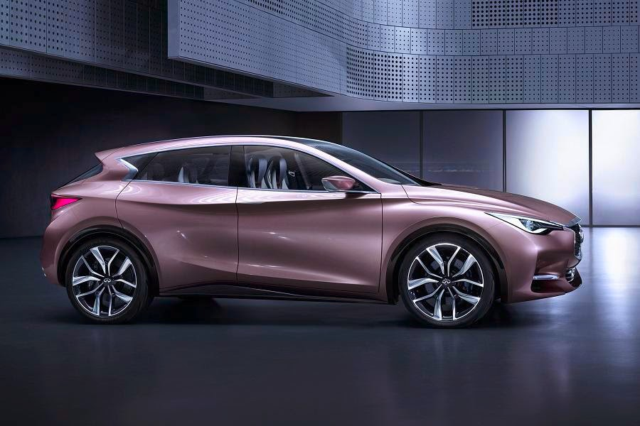 Infiniti Q30 Concept (2013) Front Side