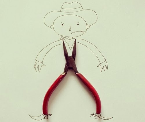 03-Cowboy-Illustrator-Javier-Pérez-aka-cintascotch-Design-in-Real-World