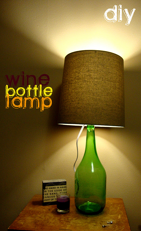 Two Cups Of Happy Diy Wine Bottle Lamp