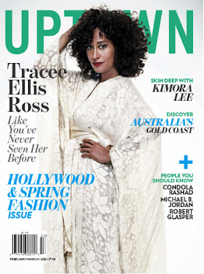 Tracee Ellis Ross Covers Uptown Magazine Hollywood Issue!