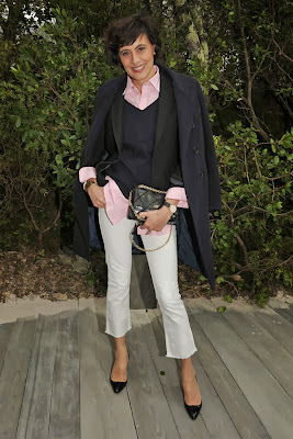 Inès de La Fressange:  Tips to look younger and chic
