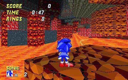 Game Sonic - Robot Blast 2