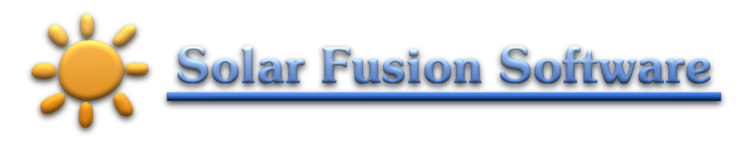 Solar Fusion Software Blog