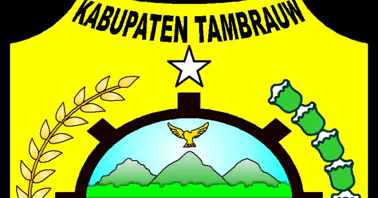 Logo Kabupaten Kota Logo Kabupaten Tambrauw Papua Barat