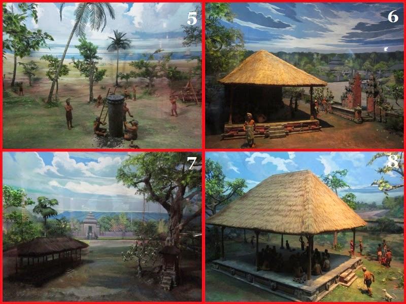 Diorama 5 sampai 8 Di Museum Bajra Sandi