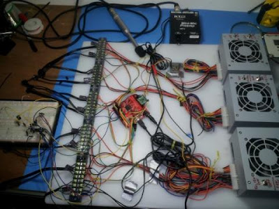 Driving 10000 LED with FPGA