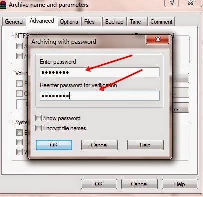 Cara Memberi Password Pada File RAR/ZIP
