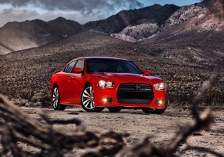 2012 Dodge Charger SRT8 Red