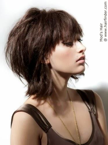 Modela tu cabello cortes de pelo mediano lacio en capas 2014