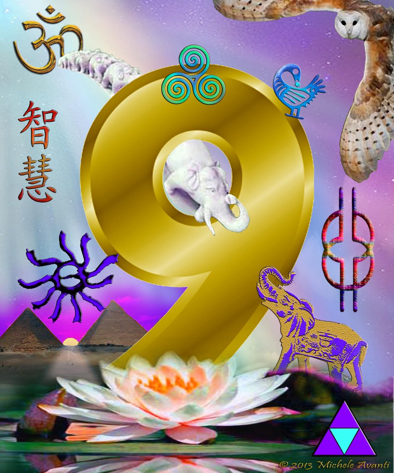 Αποτέλεσμα εικόνας για spiritual number nine