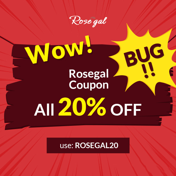 Wow! Rosegal Coupon Bug!!!