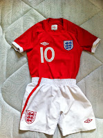england official kids jersey