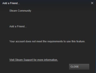 Steam akun limited