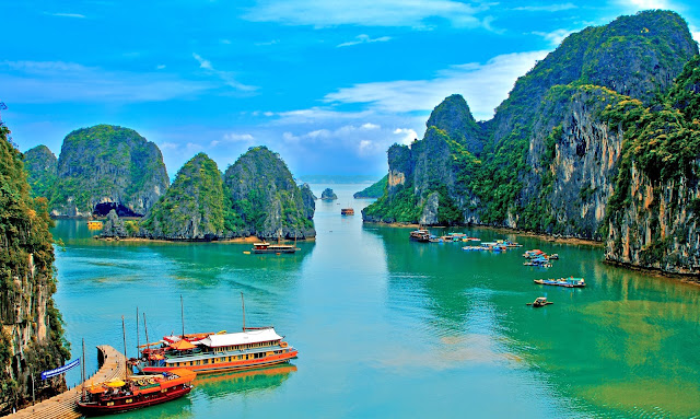 Halong bay, Vietnam most beautiful bay of the World