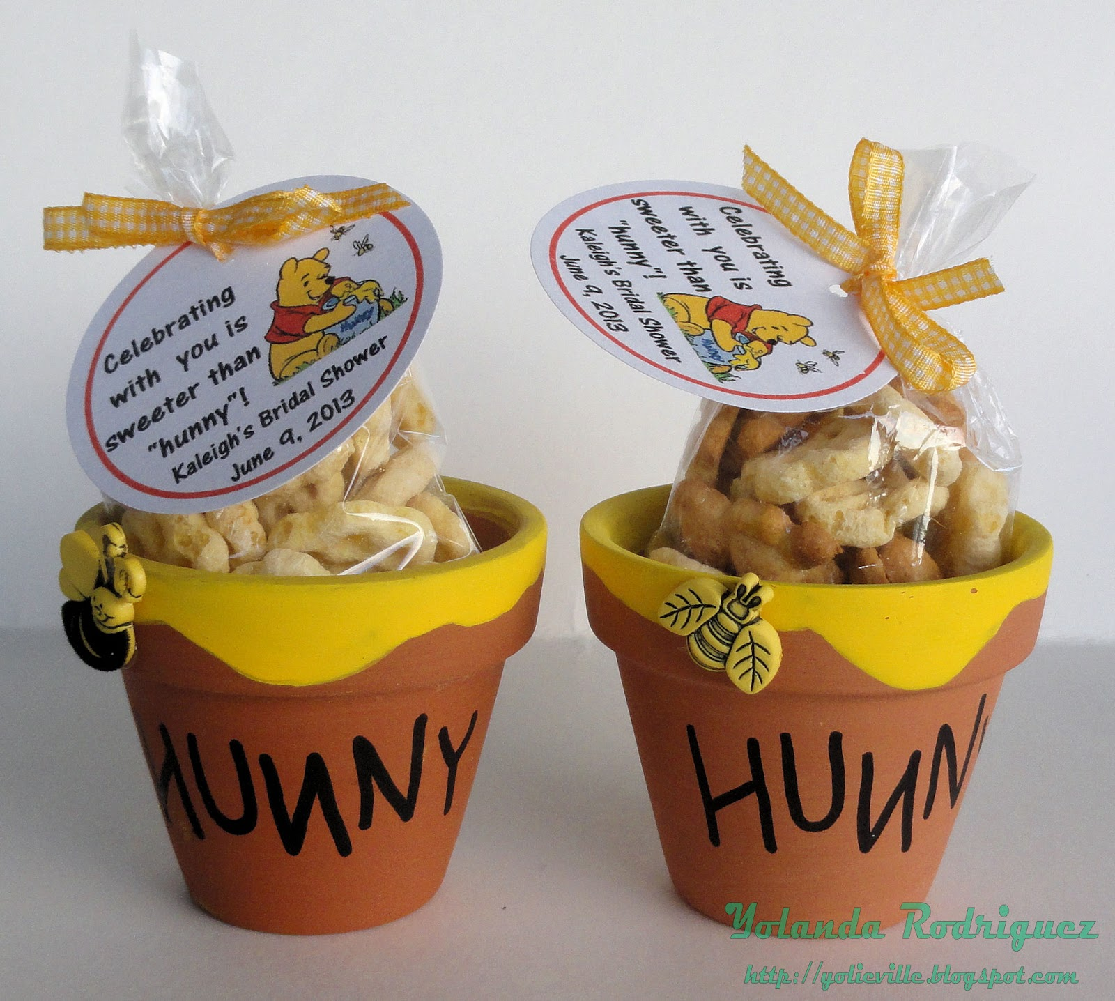 yolieville bridal shower favor part 2 winnie the pooh