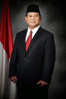 Profile Capres 2014 Prabowo Subianto Djojohadikusumo