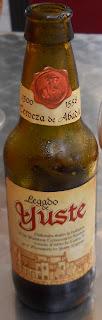 cerveza de tipo abadía Legado de Yuste