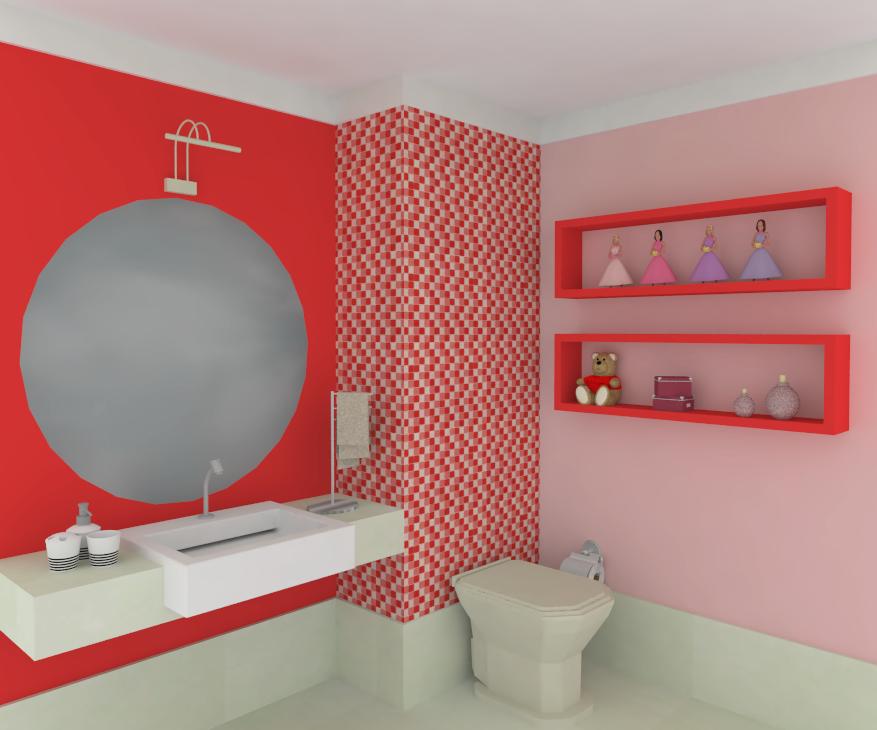 Banheiros Decorados Pastilhas de Vidro  CONTATO (27) 98581936 Adão  Adão  -> Decoracao De Banheiro Com Pastilha Rosa