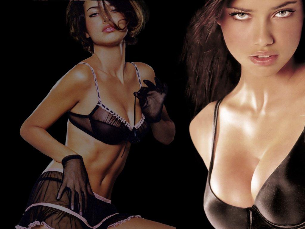 hollywood hot 18: brazilian supermodel adriana lima wallpaper