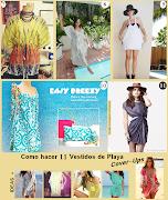 . enseñando el culote. Por cierto son algunos tan fáciles que se pueden . como hacer vestidos de playa cover ups