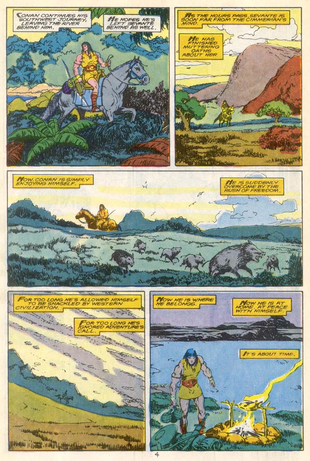Conan the Barbarian (1970) Issue #210 #222 - English 5