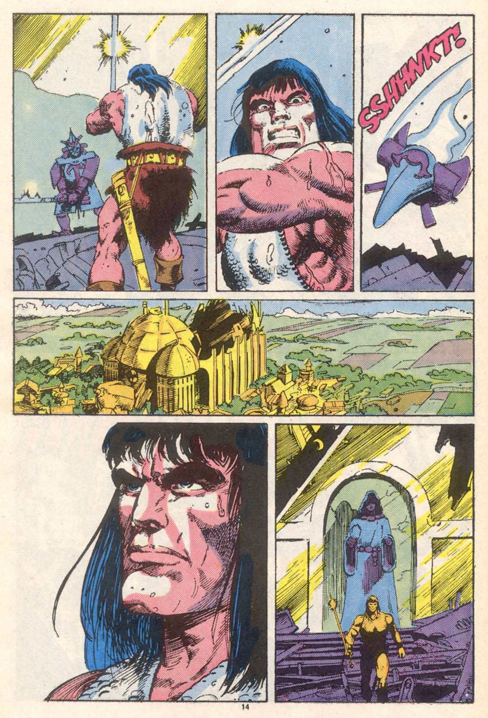 Conan the Barbarian (1970) Issue #206 #218 - English 12