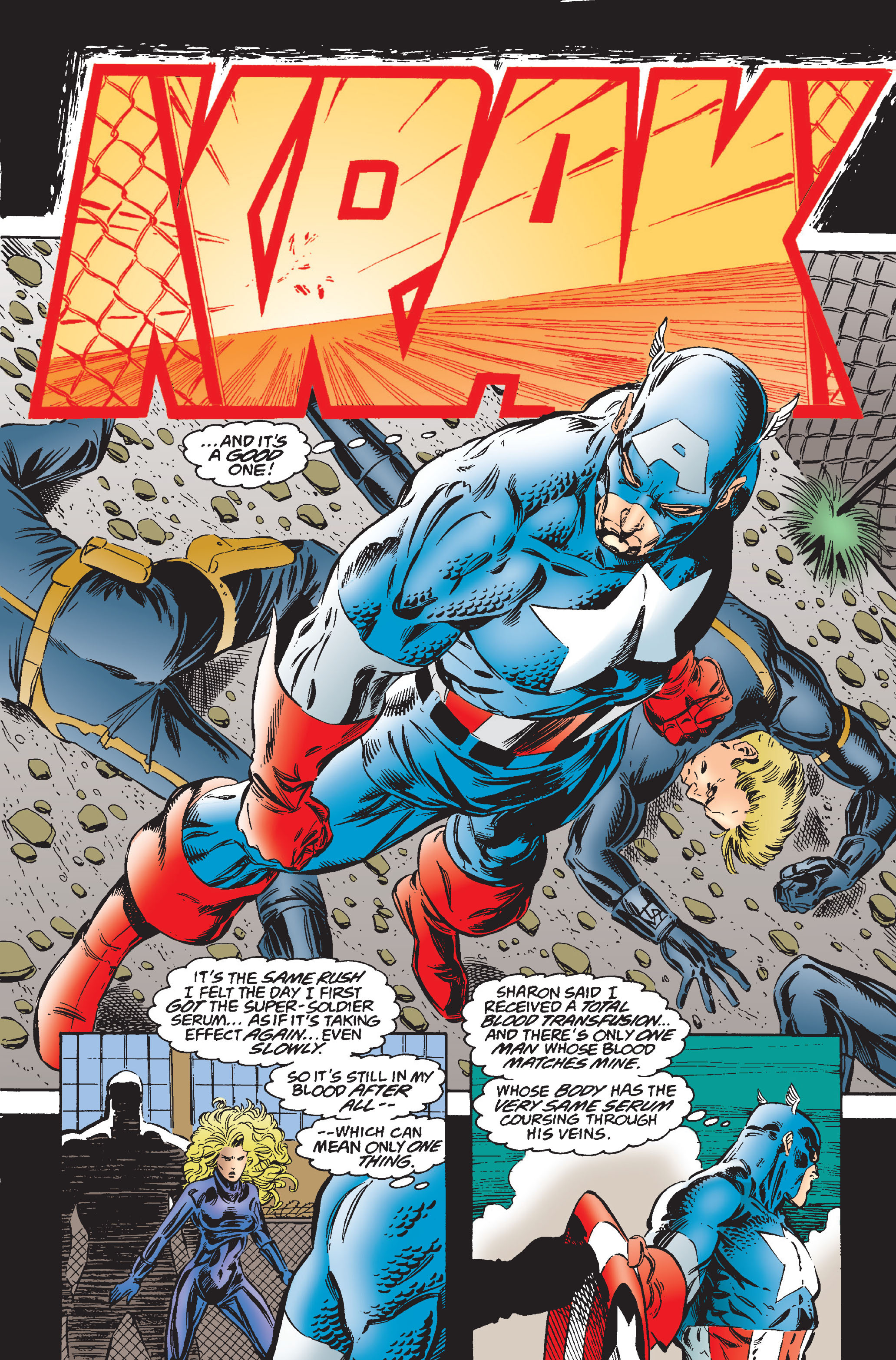 Captain America (1968) Issue #445 #399 - English 17