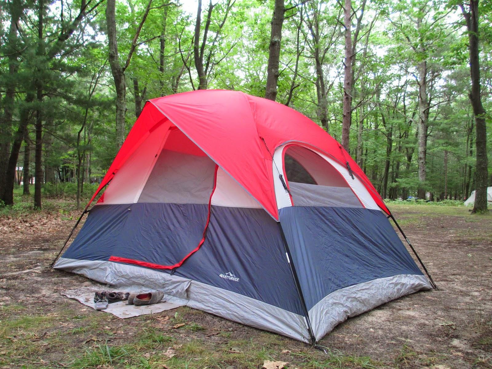 With ... & Oaken Gearbox: Gear Review: Aldi Adventuridge Dome Tent