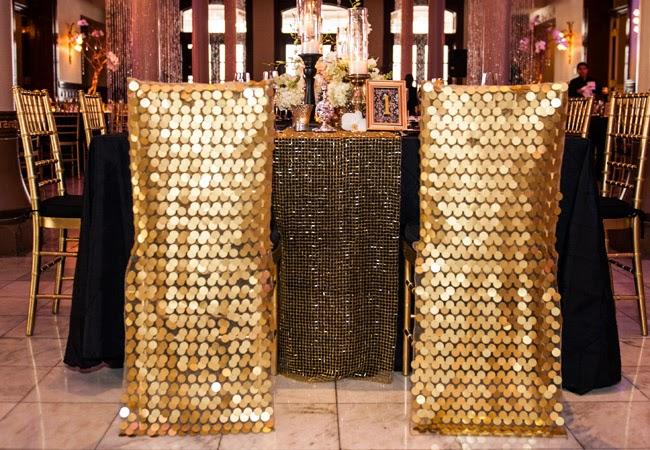 Bling Brides Gold inspired weddings