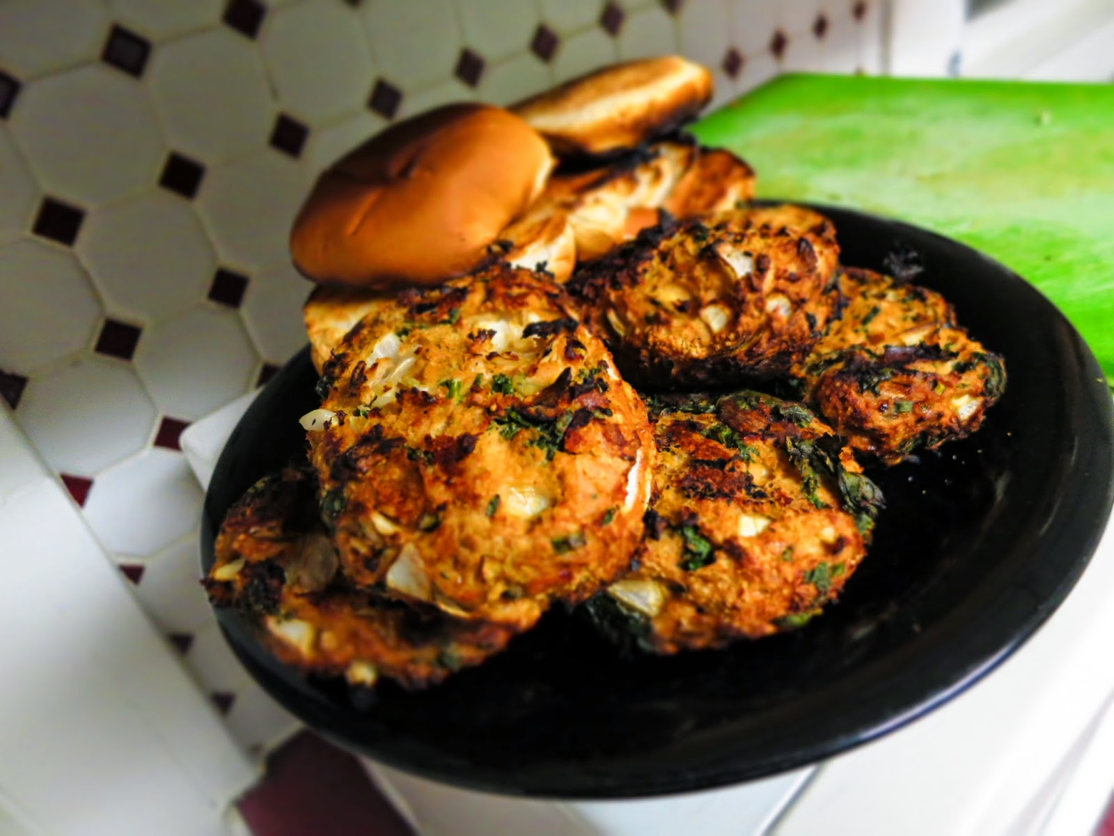 chickpeas fiber healthy spinach turkey chickpea spinach burgers ...