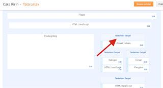 Cara Pasang Widget Statistik Blog di Blogspot