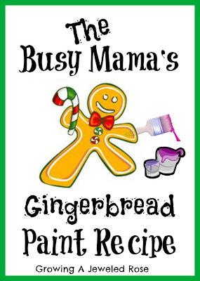 gingerbread paint recipe